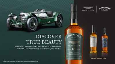 Bowmore® Single Malt Scotch Whisky introduces the Designed by Aston Martin collection