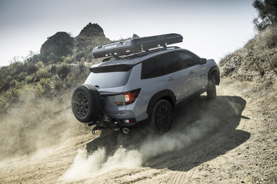 Honda today unveiled the Passport TrailSport Rugged Roads Project vehicle, a custom build outfitted with accessories and gear to support overlanding enthusiasts. Leveraging the restyled 2022 Passport TrailSport, which features a new rugged exterior design, the Rugged Roads Project vehicle also expresses the vision for more off-road capable production TrailSport models to come.